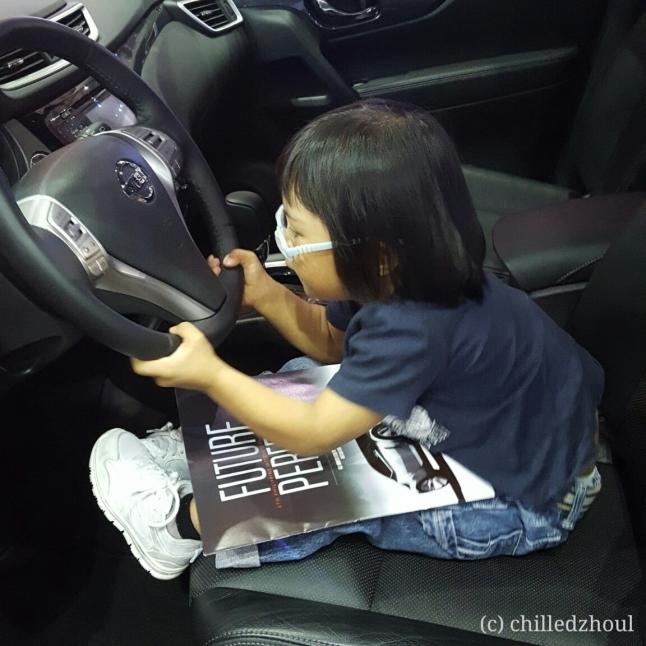 Testing the wheel :D